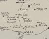 5LFA War Diary - Map Vimy