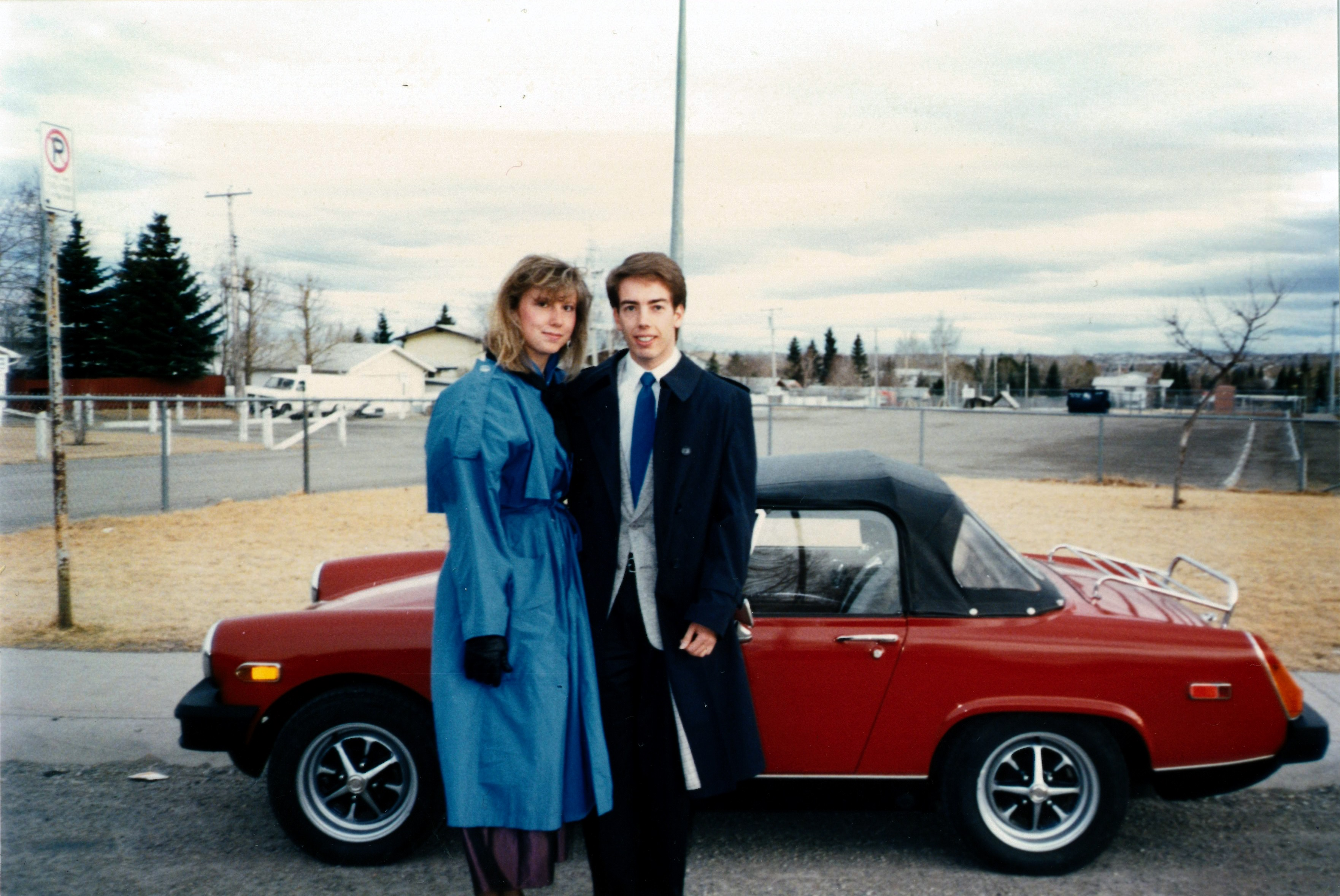 Dave and Brenda (April1988)